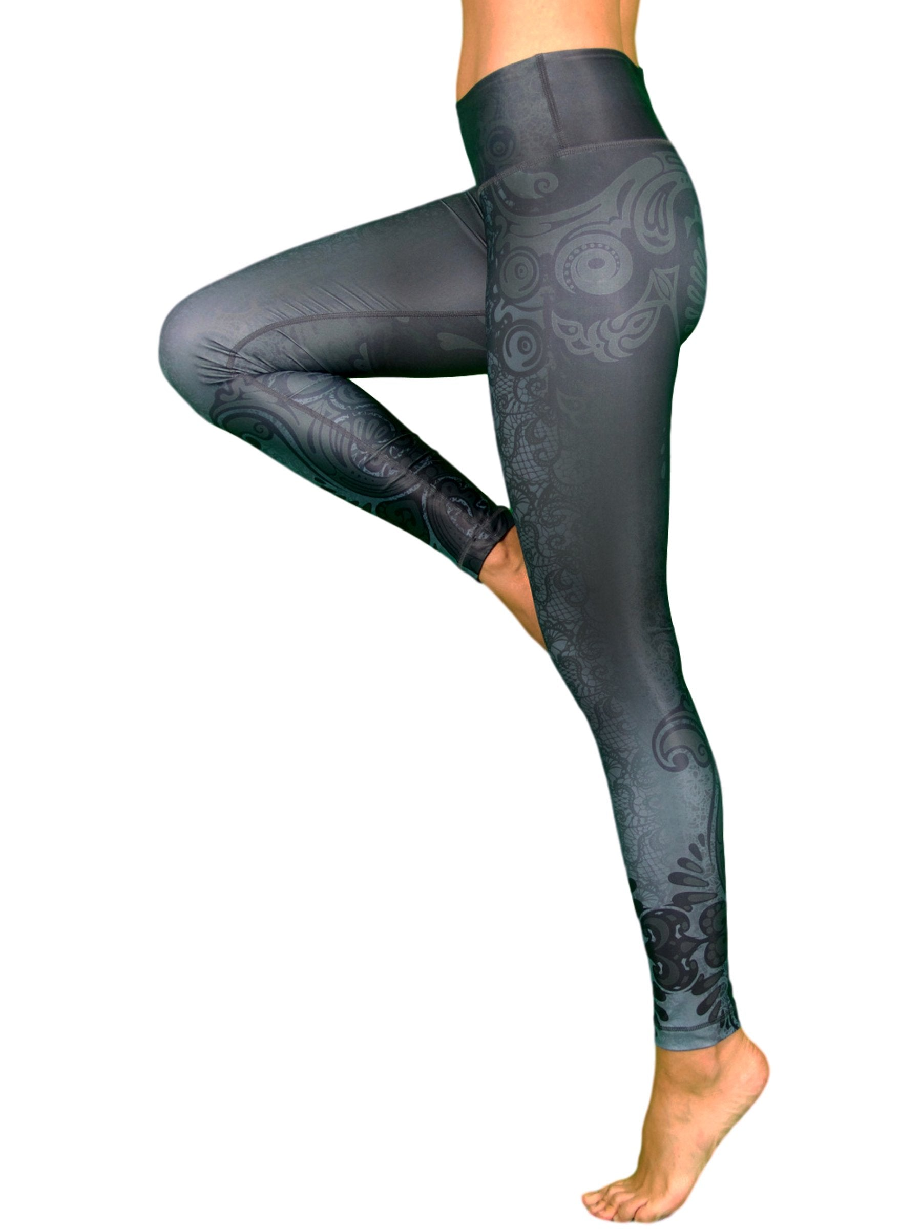 Maori Magic by Niyama - High Quality, Yoga Legging for Movement Artists.