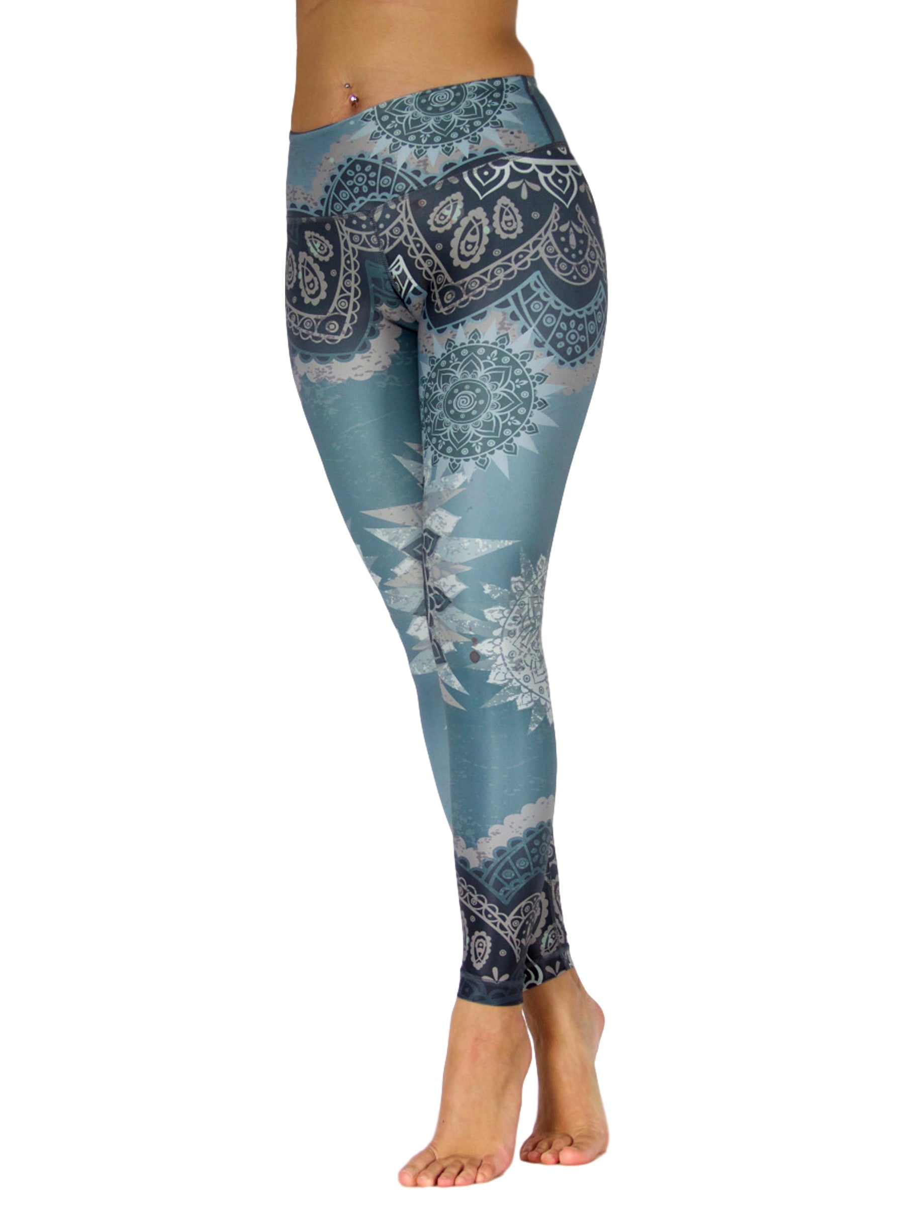 Dancing Beauty High Waist by Niyama - High Quality, Yoga Legging for Movement Artists.