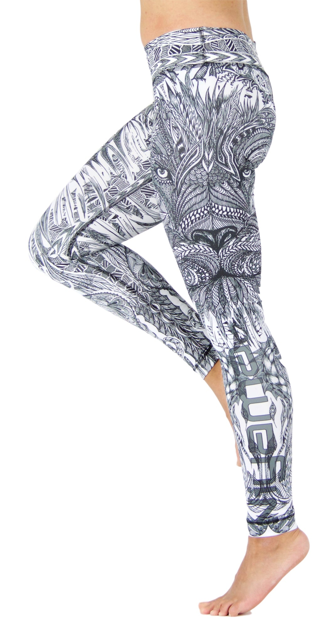 Sundance Warrior by Niyama - High Quality, Yoga Legging for Movement Artists.