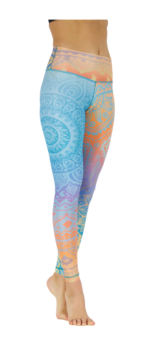 Sunny Soul by Niyama - High Quality, Yoga Legging for Movement Artists.