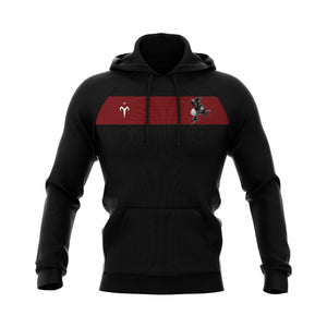 Black Monks Rugby Sublimated Hoodie