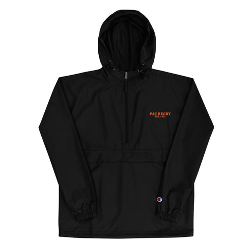 PAC Rugby Embroidered Champion Packable Jacket