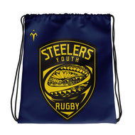 Provo Steelers Youth Rugby All-Over Print Drawstring Bag