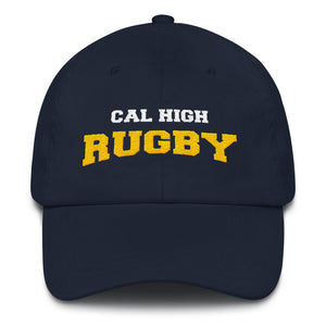 Cal High Rugby Dad hat