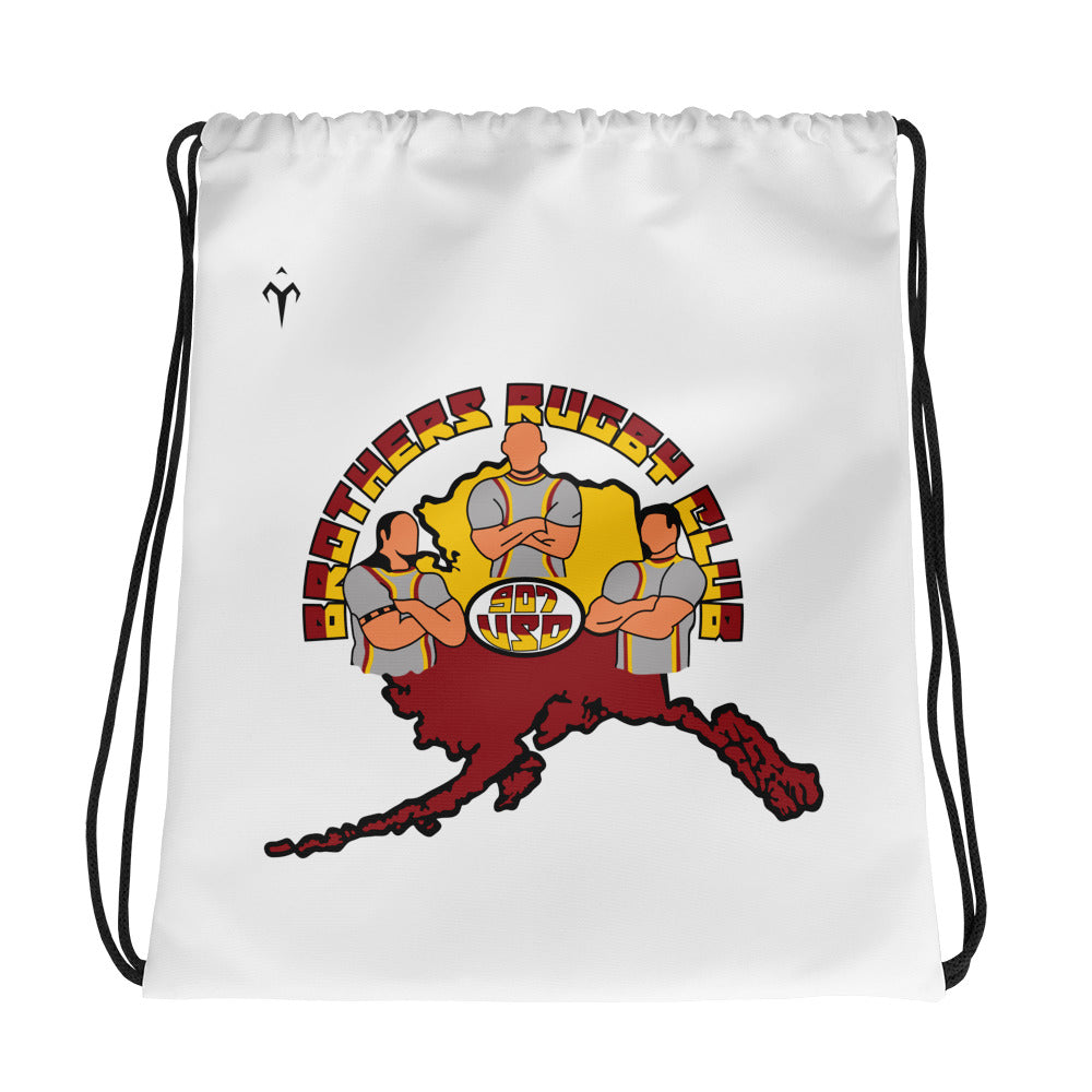 907 Brothers Rugby Drawstring bag