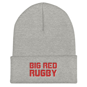 Big Red Rugby Cuffed Beanie
