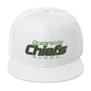 Oceanside Chiefs Rugby Snapback Hat