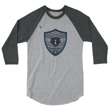 Copper Hills Rugby 3/4 sleeve raglan shirt