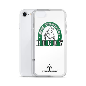 MVHS Timberwolves Rugby iPhone Case