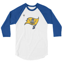 Grand Haven Rugby Flag 3/4 sleeve raglan shirt
