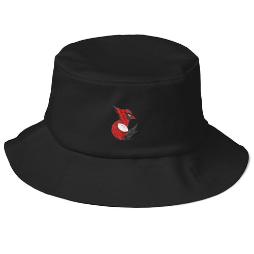 Wesleyan Women's Rugby Old School Bucket Hat