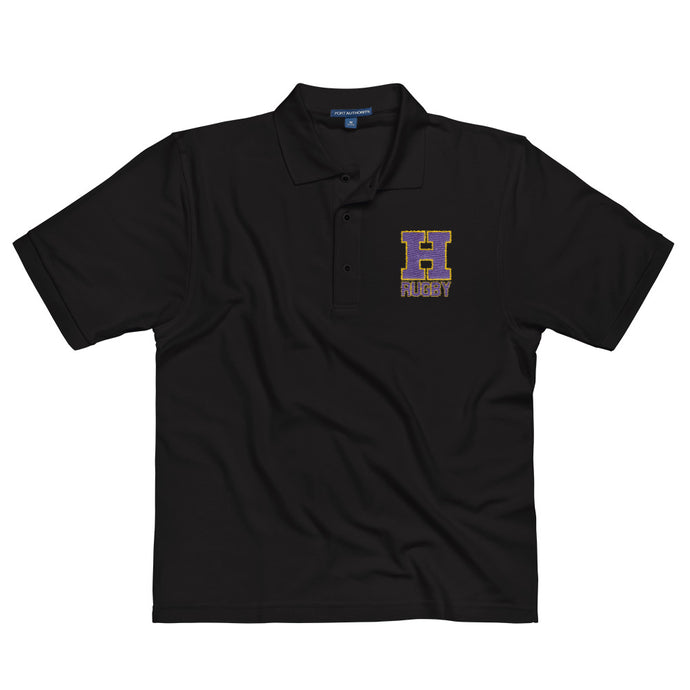 Hononegah Rugby Embroidered Polo Shirt