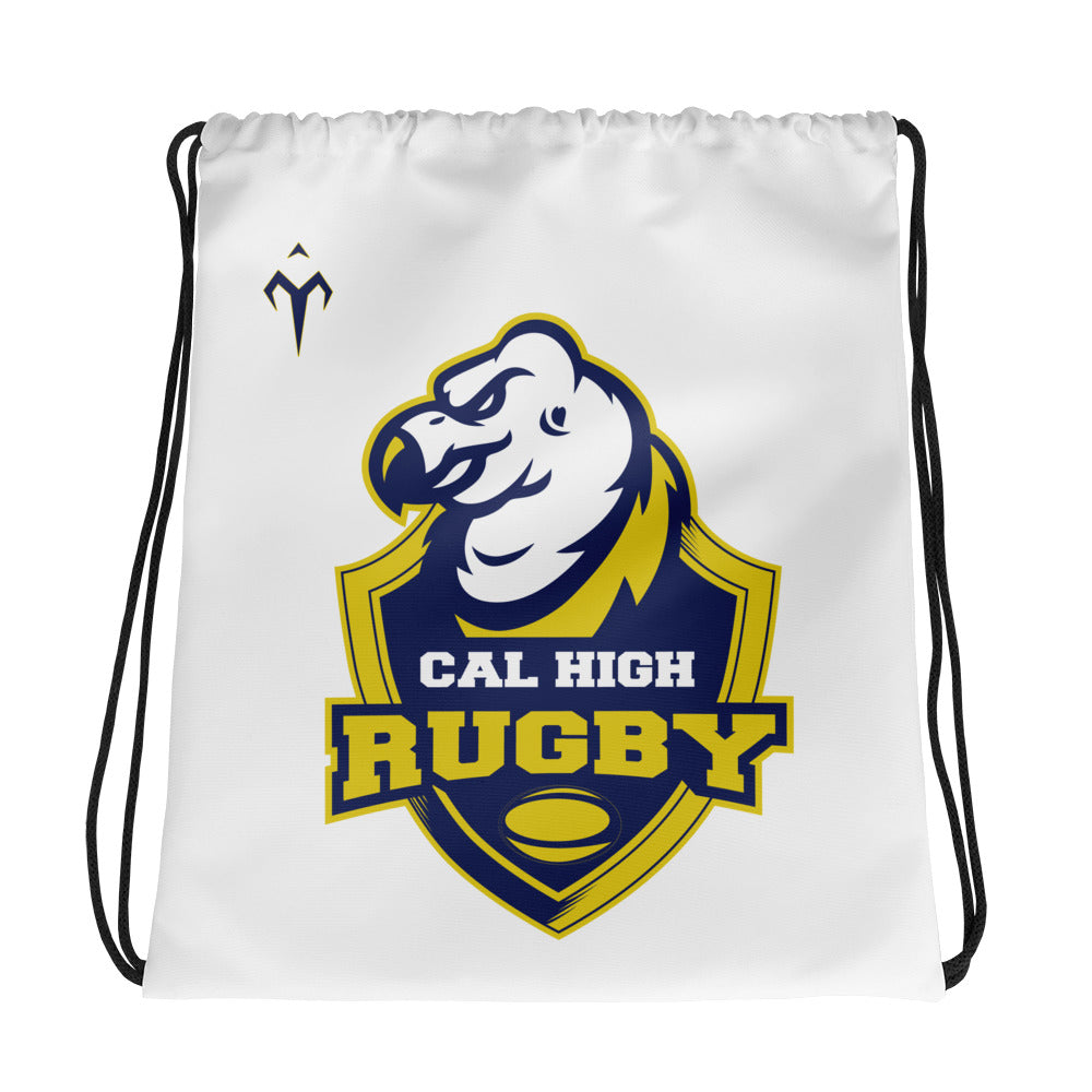 Cal High Rugby Drawstring bag