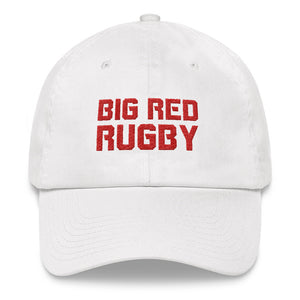 Big Red Rugby Dad hat