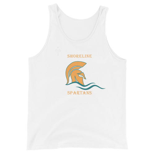 Shoreline Spartans Rugby Unisex Tank Top