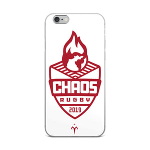 Chaos Rugby iPhone Case