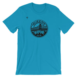 Queens Rugby Short-Sleeve Unisex T-Shirt
