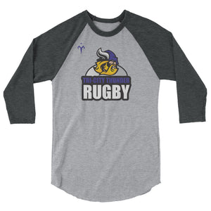 Tri-City Thunder 3/4 sleeve raglan shirt