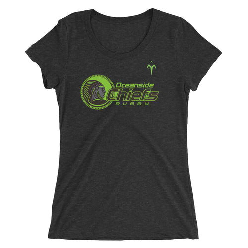 Oceanside Chiefs Rugby Ladies' short sleeve t-shirt