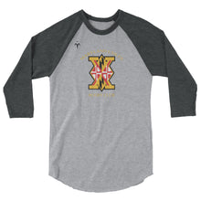 Maryland Exiles 3/4 sleeve raglan shirt