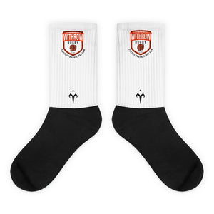 Withrow Black foot socks