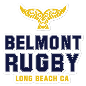 Belmont Shore Rugby Club Bubble-free stickers