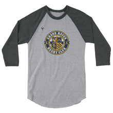 Grand Haven Rugby Seal 3/4 sleeve raglan shirt