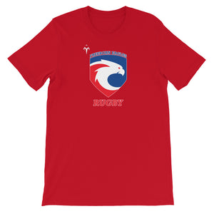 Freeborn Eagles Rugby Short-Sleeve Unisex T-Shirt