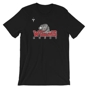 Westerville Worms Rugby Short-Sleeve Unisex T-Shirt