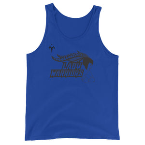 Lady Warriors Rugby Unisex  Tank Top