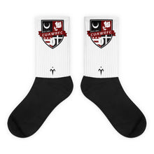 CUAWRFC Black foot socks