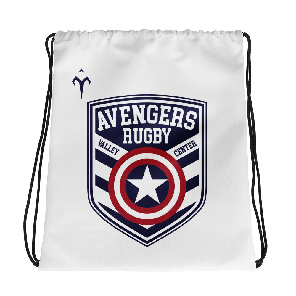 Valley Center Avengers Youth Rugby Drawstring bag