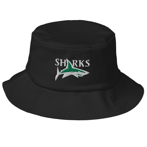 Central Coast Sharks Rugby Old School Bucket Hat