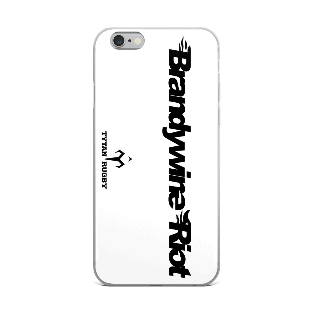 Brandywine Riot Rugby iPhone Case