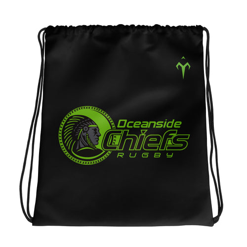 Oceanside Chiefs Rugby Drawstring bag