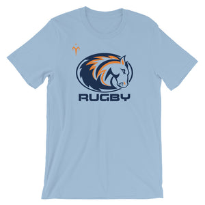 Mustangs Rugby Short-Sleeve Unisex T-Shirt