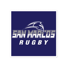 San Marcos Rugby Bubble-free stickers