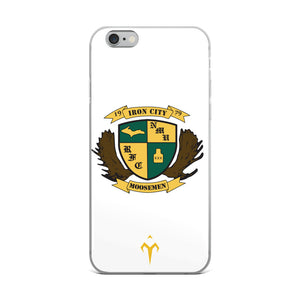 Moosemen Rugby iPhone Case