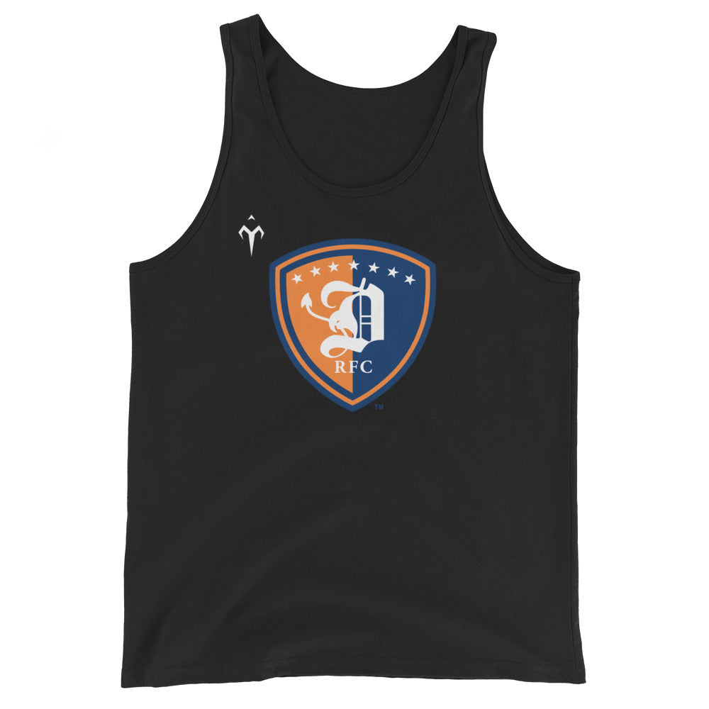 Dallas Diablos Rugby Unisex  Tank Top