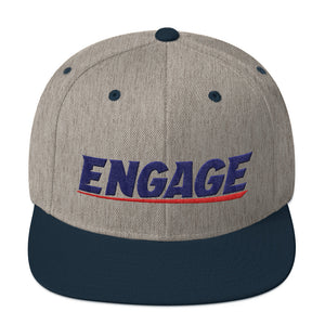 Engage Rugby Snapback Hat