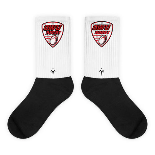 OWU Black foot socks