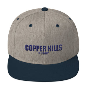 Copper Hills Rugby Snapback Hat