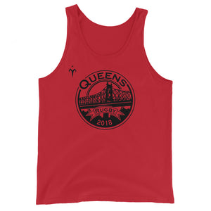 Queens Rugby Unisex  Tank Top