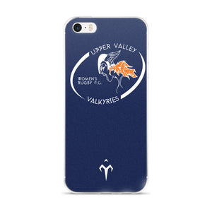 Upper Valley Valkyries Blue iPhone 5/5s/Se, 6/6s, 6/6s Plus Case