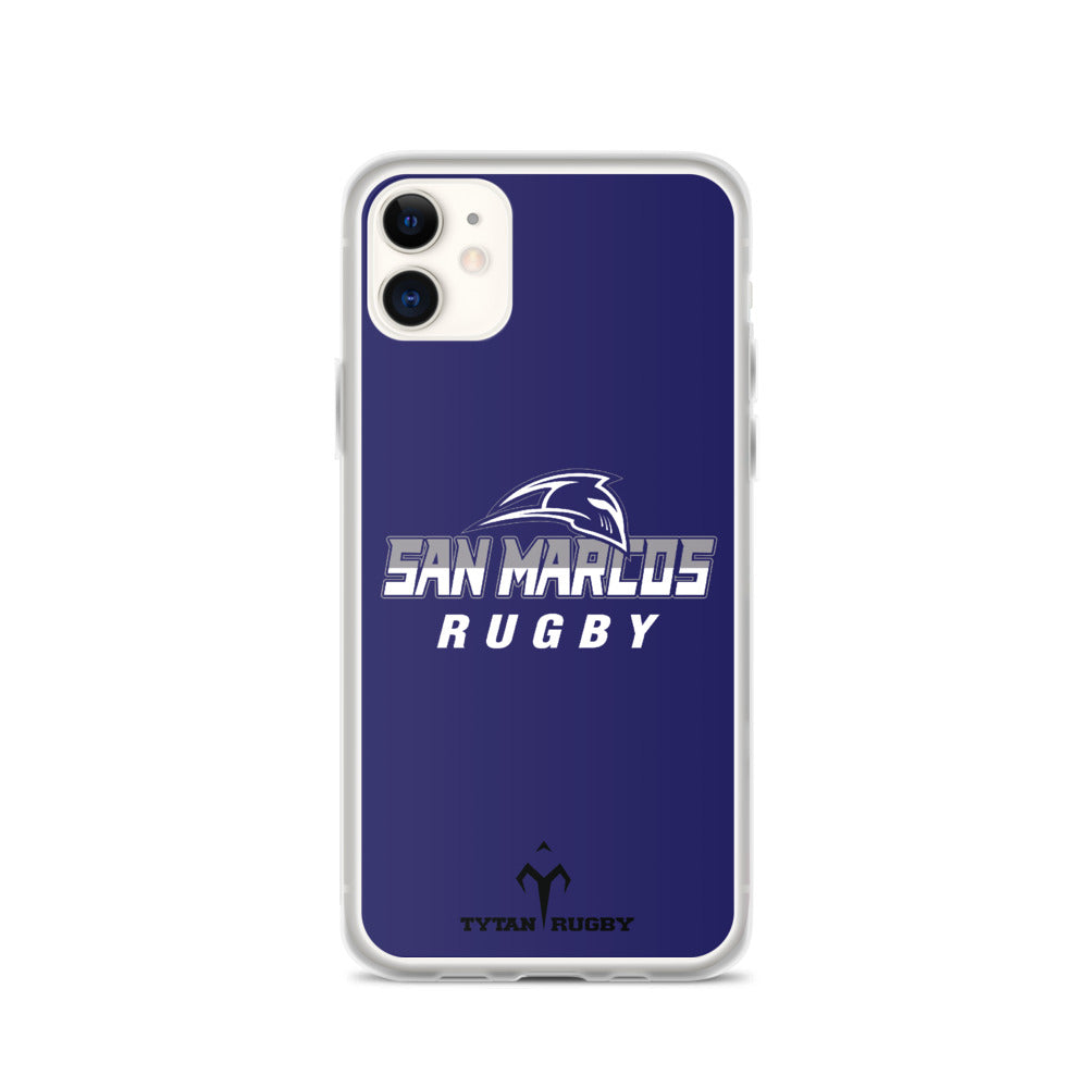San Marcos Rugby iPhone Case