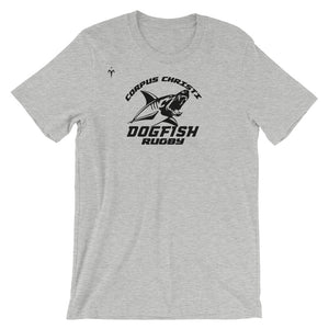 Corpus Christi Dogfish Rugby Short-Sleeve Unisex T-Shirt