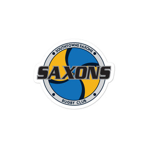 Southtowns Saxons Rugby Bubble-free stickers