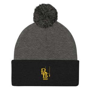Brecksville Broadview Heights Rugby Football Club Pom Pom Knit Cap