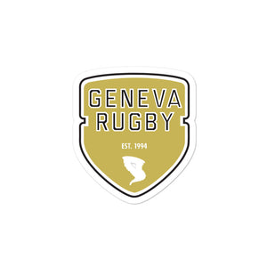 Geneva Rugby Bubble-free stickers