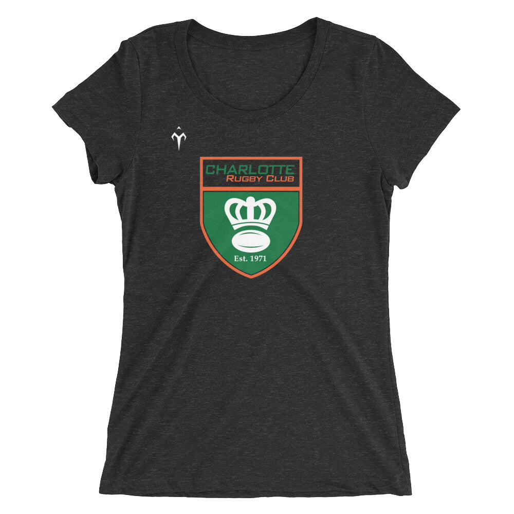 Charlotte Rugby Club Ladies' short sleeve t-shirt